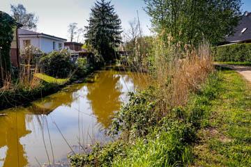Graben 1 am Südende Abfluss am Nettelnburger Landweg, Nettelnburger Straße in das Landscheidefleet